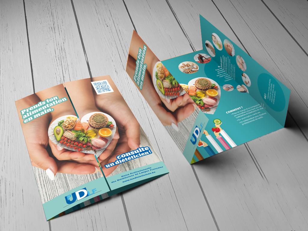 brochure Prends ton alimentation en main, consulte un diététicien
